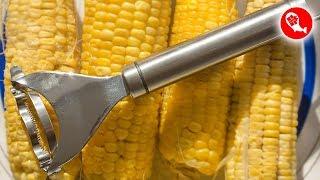 Нож для очистки кукурузы в домашних условиях | SUS-304 | Посылка из Китая
