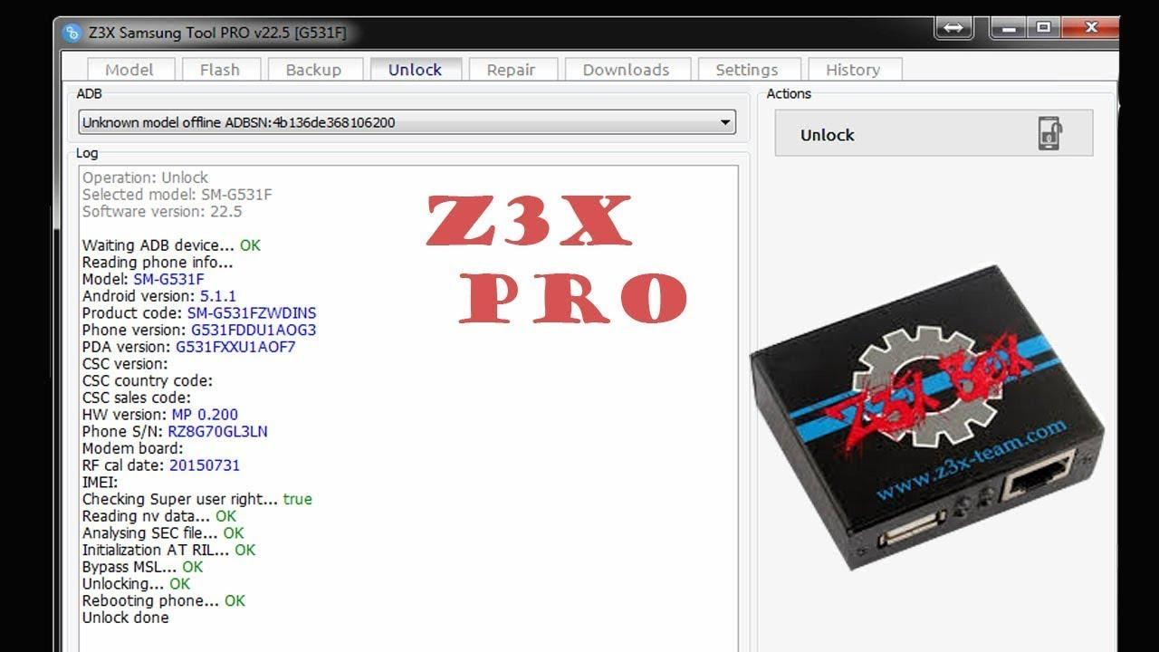 z3x crack tanpa box