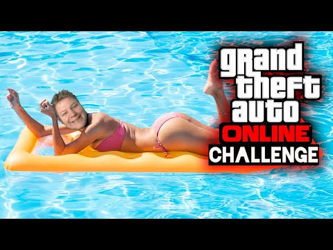 Ab in den POOL! 🎮 GTA Grand Theft Auto Online Challenge #236 thumbnail