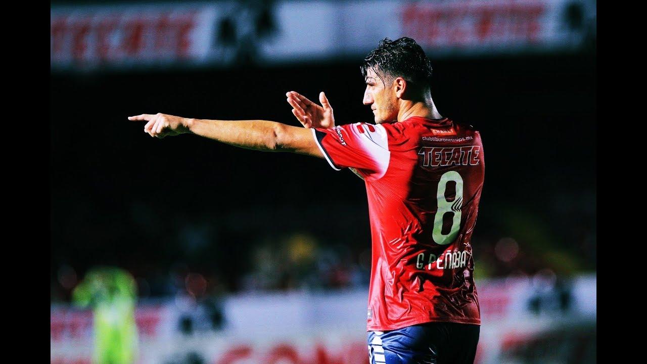 Gabriel Peñalba en su etapa con Veracruz
