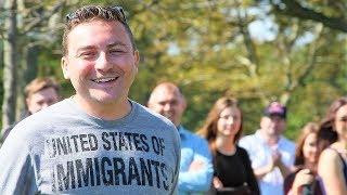 🍺🍺🍺Как на самом деле отдыхают наши в США... Видеоотчет встречи иммигрантов. #205