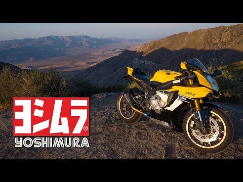 INSANE SOUND!! 2016 Yamaha R1 Yoshimura Alpha Ti Exhaust
