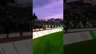 Balıkesirspor - Bursaspor Tribün ! HAYKIRDIK ADINI DÜNYALARA !