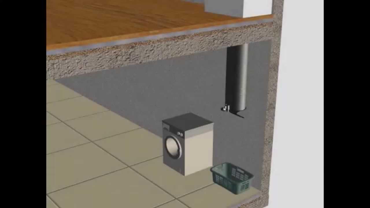 Turbo GenialSystem - Montageanleitung für einen Wäscheschacht aus PO97