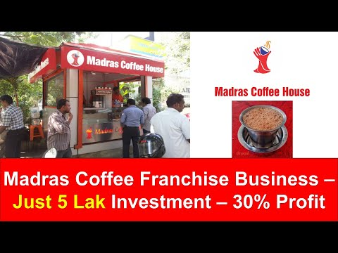 Madras Coffee House  Franchise Business | Small Business dealership idea | Tamil