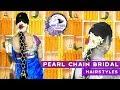 Pelli poola muthyala jada | Bridal Pearl hairstyles | Wedding hairstyles | Hair Styles & Fashions
