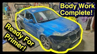 Rebuilding The CHEAPEST Salvage Auction Bmw M2 IN THE WORLD! PART 7 Front End Repair