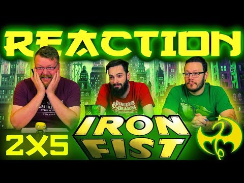 Iron Fist 2x5 REACTION!! Heart of the Dragon