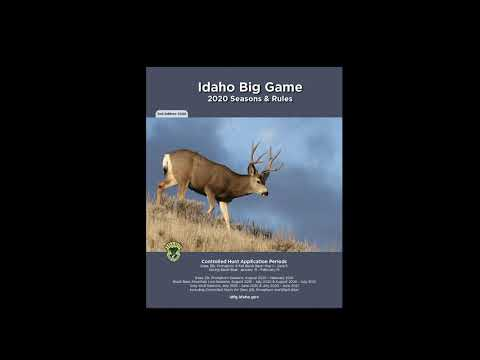 How To Apply For Idaho's Controlled Hunts Online