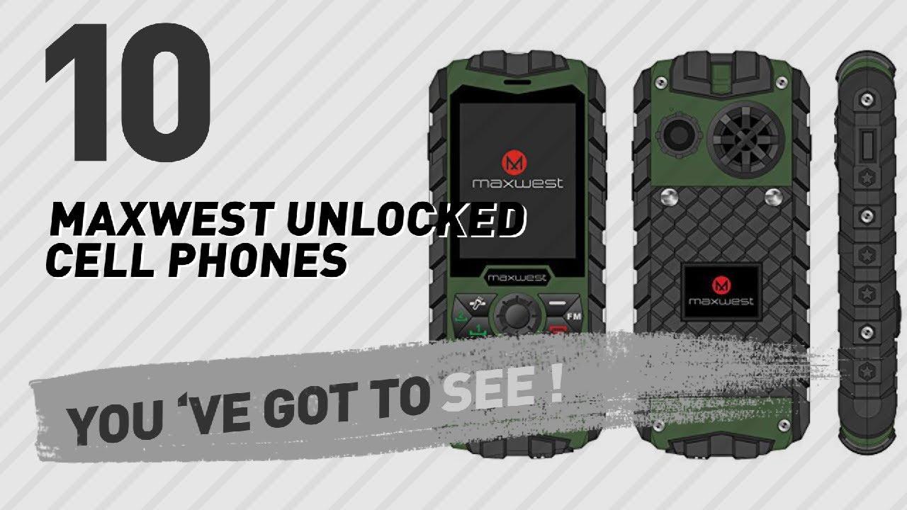 Maxwest Unlocked Cell Phones // Best Sellers 2017