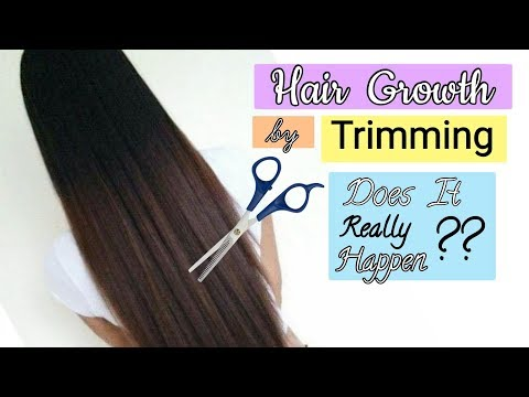 Hair Growth by Trimming | Does It Really Happen??
