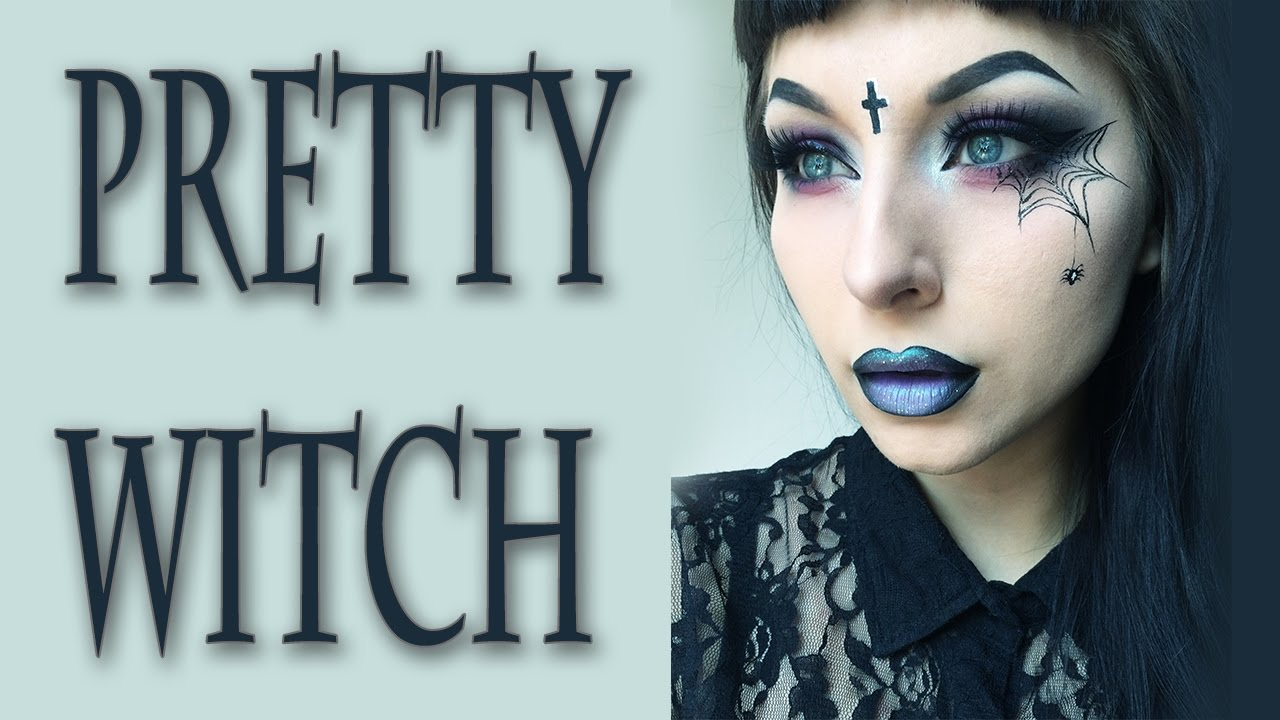 WITCH Halloween Makeup Tutorial - YouTube
