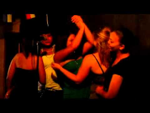 Karaoke at Guzzelers in Milnerton, Cape Town