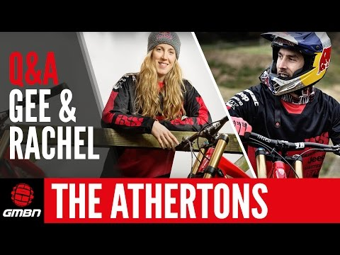Q & A With Gee And Rachel Atherton
