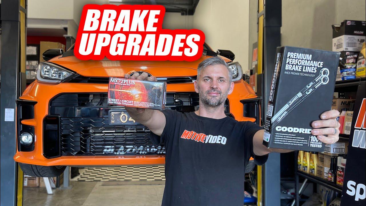 Upgrade your GR Yaris Brakes - Day Job
