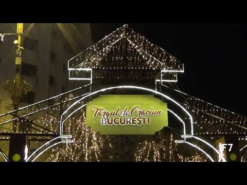 Targul de Craciun Bucuresti 2016 - Piata Constitutiei / Bucharest Christmas Market 2016