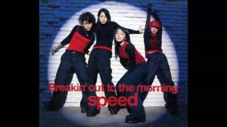 SPEEDの10枚目のシングル 「Breakin' out to the morning」より (1999年...