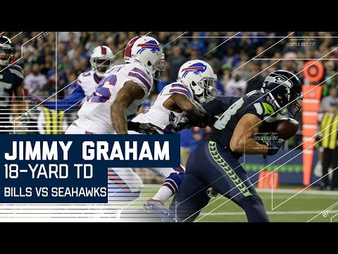 Jimmy Graham Hurdle & Second Incredible One-Handed Touchdown Catch | Bills vs. Seahawks | NFL