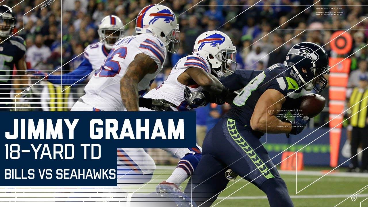 Jimmy Graham Hurdle & Second Incredible e Handed Touchdown Catch