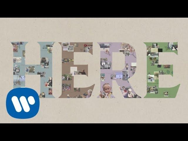 Lukas Graham - HERE (For Christmas) [OFFICIAL LYRICS VIDEO]