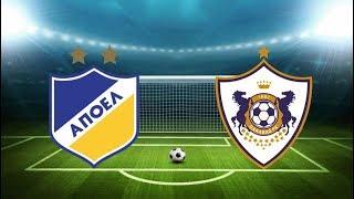 аПОЭЛ 1-2 Карабах. Обзор матча. Лига Чемпионов 2019/20