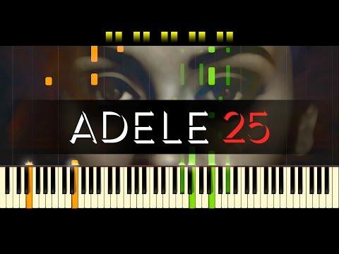 "Million Years Ago (Piano) - ""25"" // ADELE"