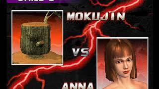Tekken 3 ( PS1 ) - Mokujin - Arcade Mode - Original Music ( Dec 29, 2017 ) thumbnail