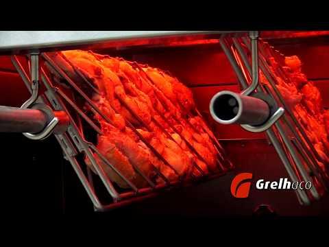 Grelhador Rotativo Multiusos - Grelhar Frangos De 2 Kg