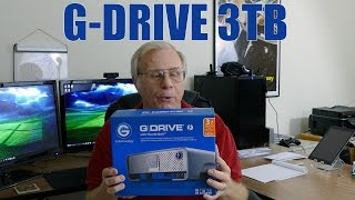 Unboxing: G-Technology G-Drive 0G03124 With Thunderbolt
