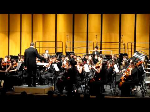NHS Philharmonic Orchestra - Hoe Down by Aaron Copland