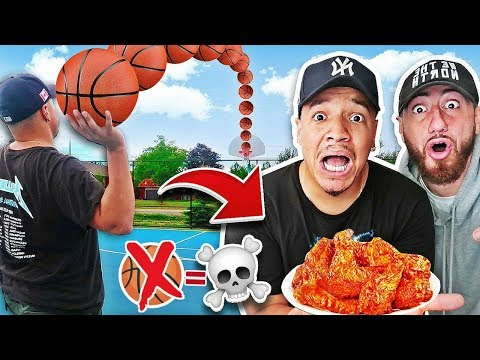 MISS The Shot, Eat A GHOST PEPPER Hot Wing (1,000,000+ SCOVILLE UNITS) SPICY PEPPER CHALLENGE