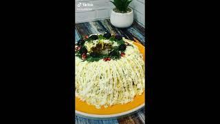 Салат Купеческий, как приготовить, простые рецепты, готовим быстро.