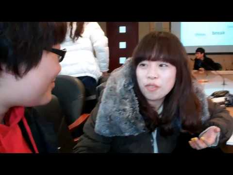 Cultural exchange!!  Shanghai Lixin University of commerce