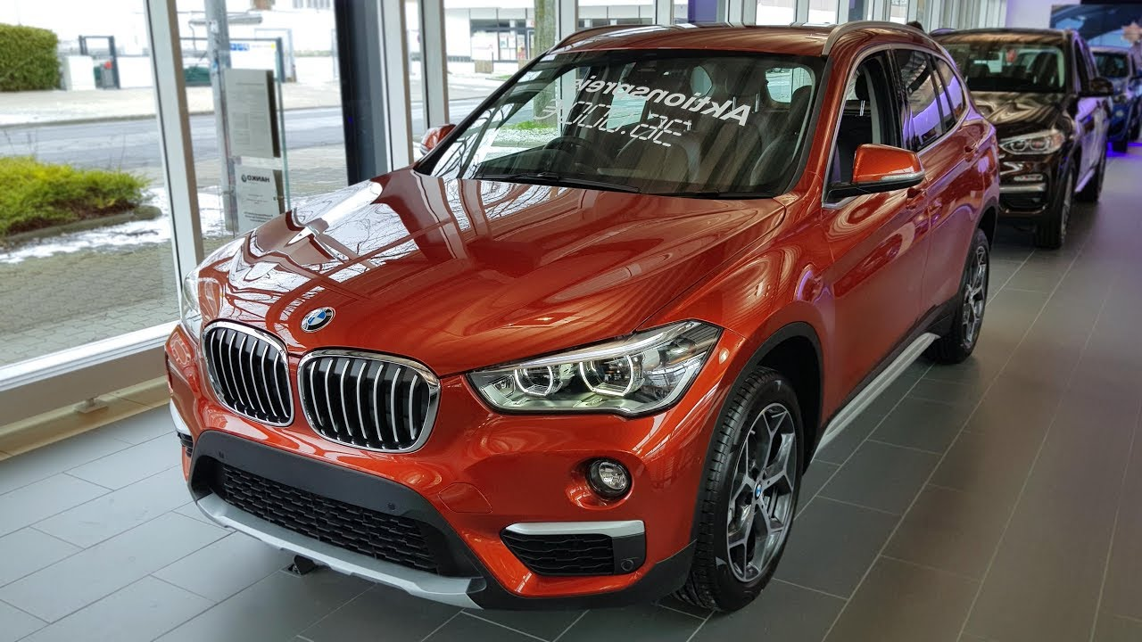 2018 BMW X1 sDrive18i Modell xLine | -[BMW.view]- - YouTube