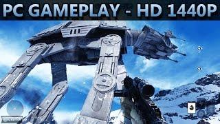 Star Wars Battlefront | BETA | PC GAMEPLAY | HD 1440P