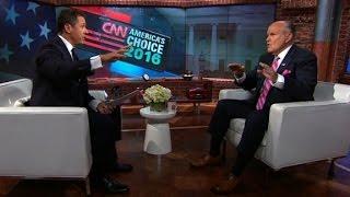 Rudy Giuliani defends Trump: Press exaggerates comments