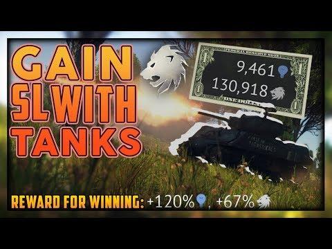 WT || SL Earning Priorities in Tank RB