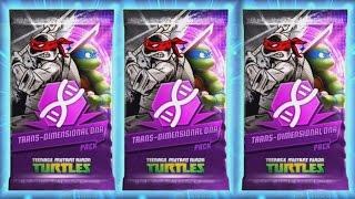TRANS DIMENSIONAL DNA PACK OPENING   Teenage Mutant Ninja Turtles Legends EPISODE