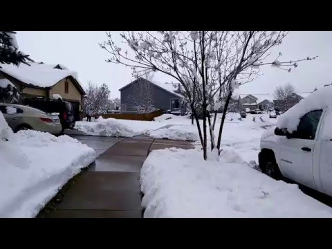 April Snow - Sidewalk Tour - Aurora, CO