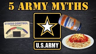 5 Army myths debunked