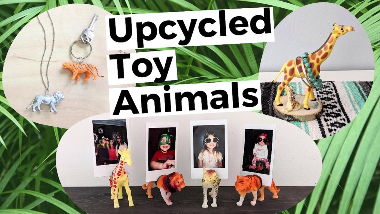 Upcycled Plastic Animals