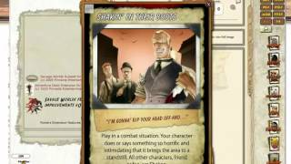 This short video shows how the new Fantasy Grounds Savage Worlds Adventure Deck works!