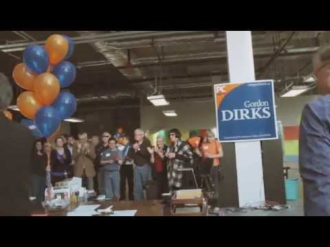 Vote Gordon Dirks / Jim Prentice Team