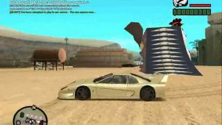 GTA SAN ANDREAS Online Stunt Drift By Startimes [HD]