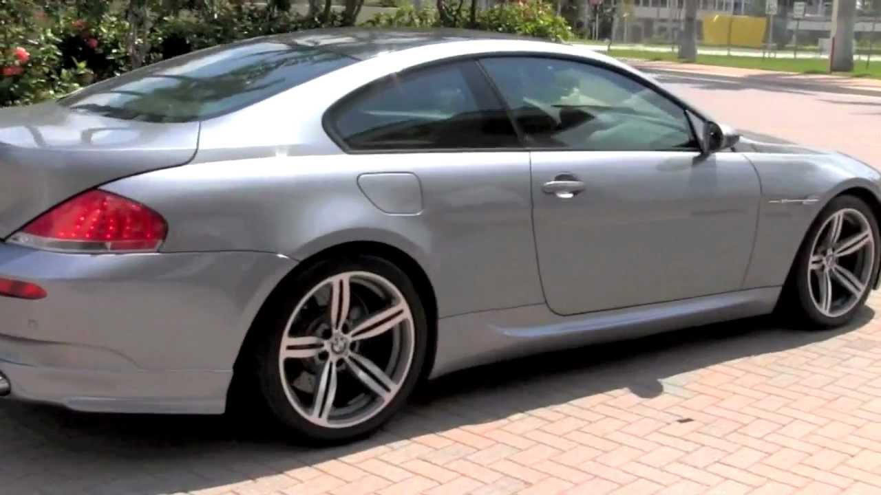 2007 Bmw M6 Silver Gray Metallic Autos Of Palm Beach A2821