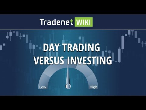 Day Trading Versus Investing