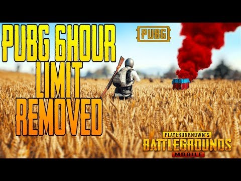 6 Hours Health Reminder | Time Limit Removed in Pubg Mobile | No Limit thumbnail