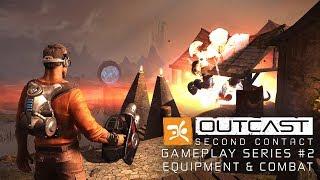 OUTCAST - Second Contact Gameplay Serie #2 - Waffen und Ausrüstung [with subtitles]