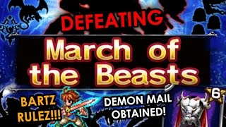 FFBE (Global) - MARCH OF THE BEASTS 9-BOSS TRAIL [TIPS: BRING BARTZ!!!]