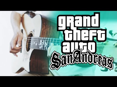 GTA San Andreas Theme⎪Fingerstyle Guitar Cover